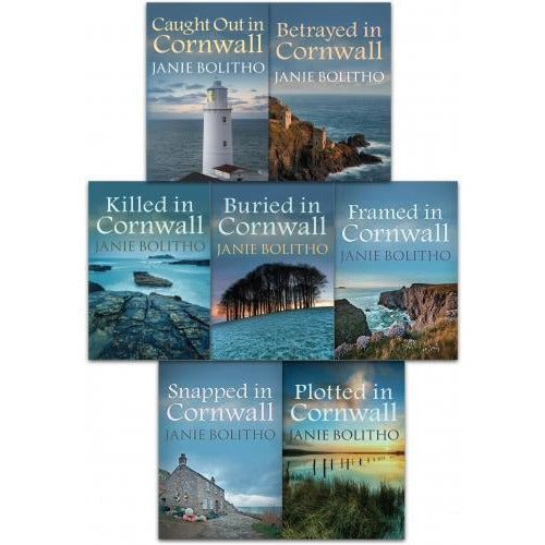 Rose Trevelyan Series Janie Bolitho Collection 7 Books Set - books 4 people