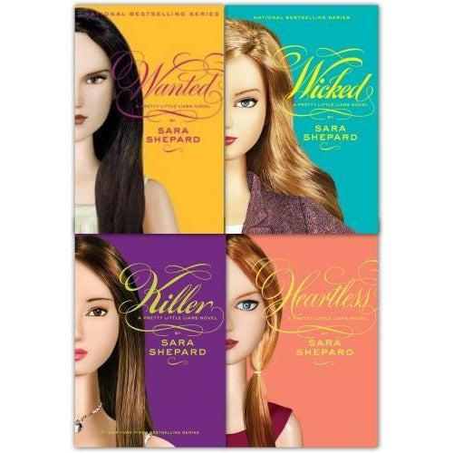 Wicked Pretty Little Liars Series 2 Collection Sara Shepard 4 Books Set Wicked Killer Heartless Wa.. - books 4 people