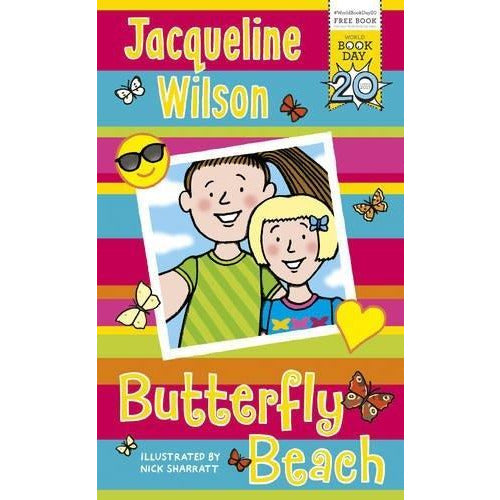 Butterfly Beach - World Book Day 2017 - books 4 people