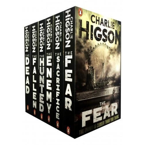 Charlie Higson The Enemy Series 6 Books Collection Set - books 4 people