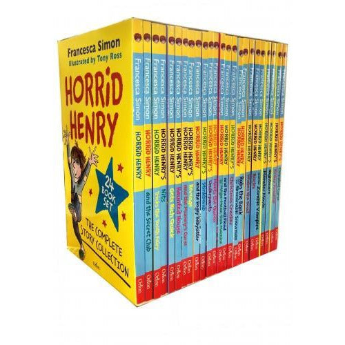 Horrid Henry The Complete Story Collection 24 Books Box Set - books 4 people