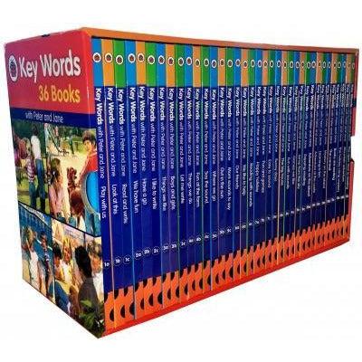 Ladybird Key Words Collection 36 Books Box Set - books 4 people