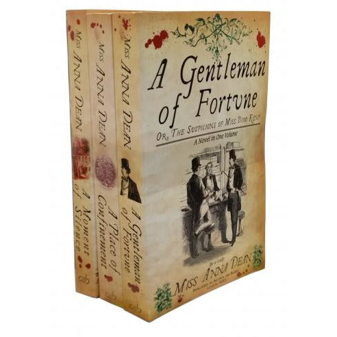 Dido Kent Mysteries 3 Books Set Collection By Anna Dean A Moment Of Silence A Gentleman Of Fortune.. - books 4 people
