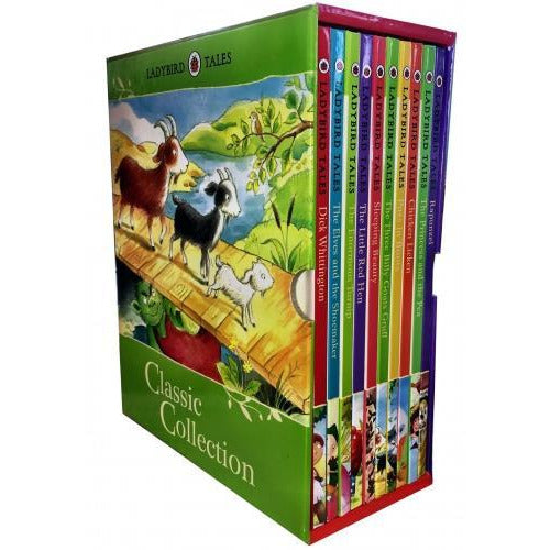 Ladybird Tales Classic Collection 10 Books Box Set - books 4 people
