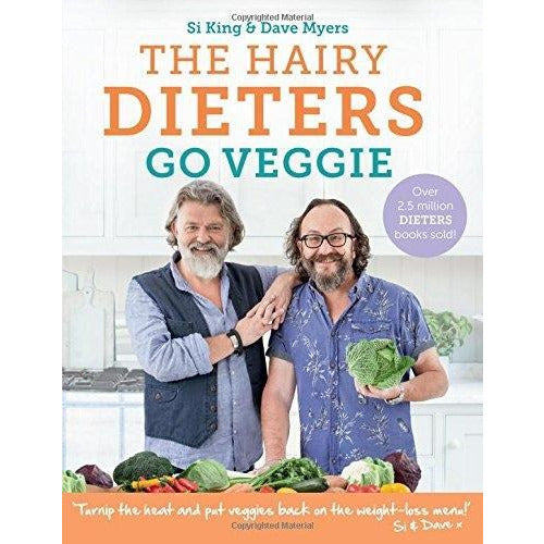 The Hairy Dieters Go Veggie By Hairy Bikers - books 4 people