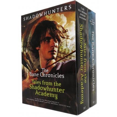 The Bane Chronicles Series 2 Books Collection Box Set Tales From The Shadowhunter Academy The Bane.. - books 4 people
