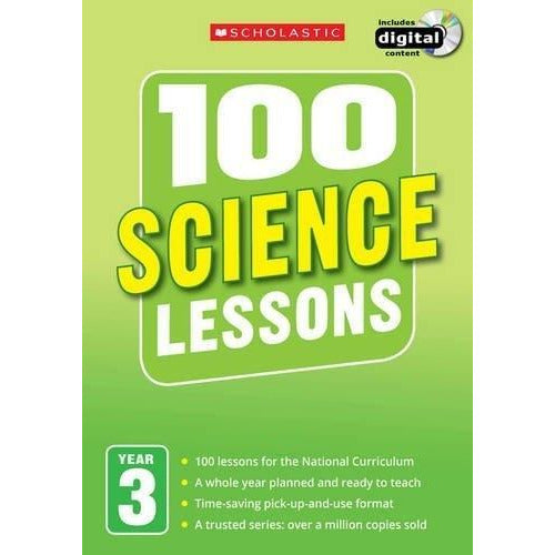 100 Science Lessons Year 3 - 2014 National Curriculum Plan And Teach Study Guide - books 4 people