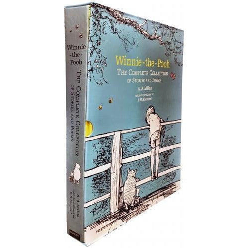 Winnie The Pooh The Complete Childrens Collection Of Stories And Poems Gift Set - books 4 people