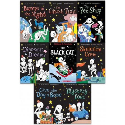 Funny Bones 8 Books Collection Set By Allan Ahlberg - books 4 people