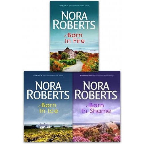 Nora Roberts Concannon Sisters Trilogy 3 Books Collection Set - books 4 people
