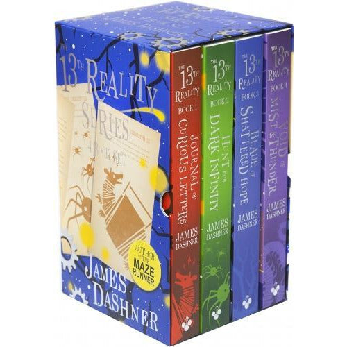 The 13th Reality Series 4 Books Collection Box Set By James Dashner - books 4 people
