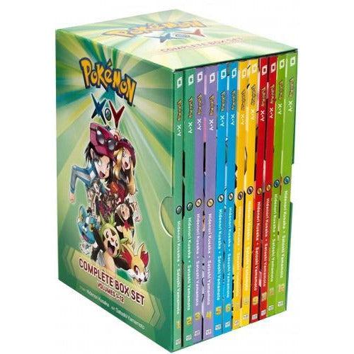 Pokemon XY Complete Collection 12 Books Box Set By Hidenori Kusaka - books 4 people