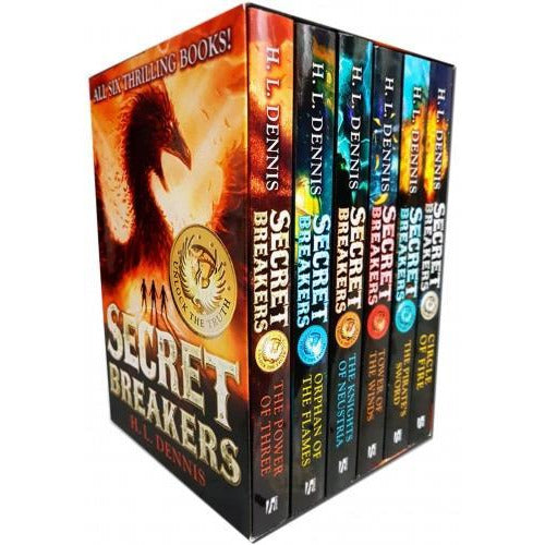 Secret Breakers Series Collection H L Dennis 6 Books Collection Box Set Power Of Three Orphan Of T.. - books 4 people