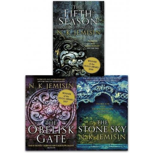 Broken Earth Trilogy Collection 3 Books Set By N K Jemisin - The Fifth Season The Obelisk Gate The.. - books 4 people