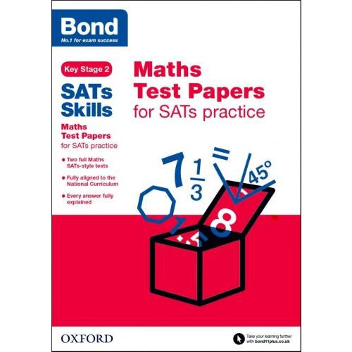 Bond Sats Skills Maths Test Papers For Sats Practice Key Stage 2 - books 4 people