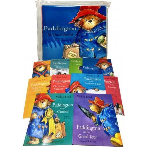 Paddington Bear 10 Books Collection Pack Set By Michael Bond - books 4 people