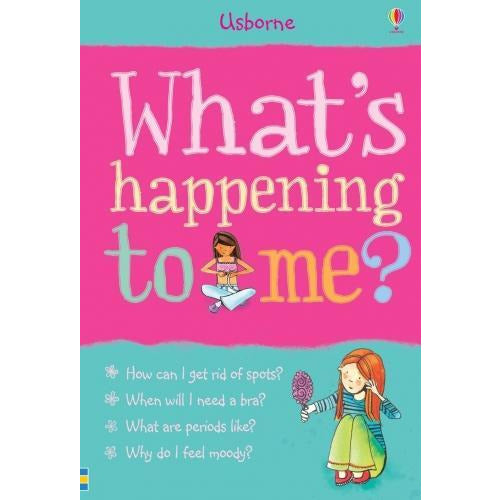 Whats Happening To Me Girls Edition Facts Of Life Girls Mood Swings Puberty Stress Growth Exam - books 4 people