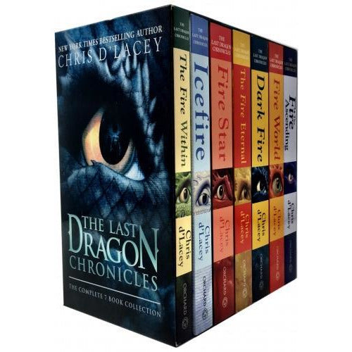 The Last Dragon Chronicles Collection Chris D Lacey 7 Books Box Set - books 4 people