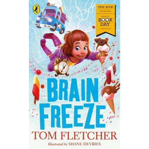 Brain Freeze World Book Day 2018 - books 4 people