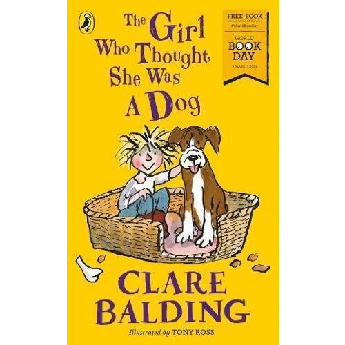 The Girl Who Thought She Was A Dog World Book Day 2018 - books 4 people