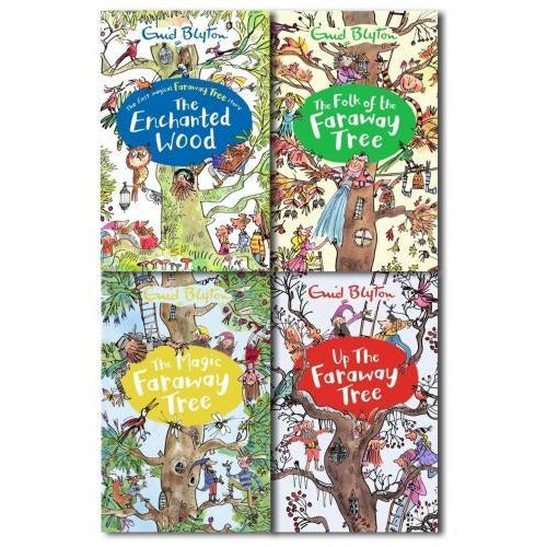 Enid Blyton The Magic Faraway Tree Collection 4 Books Set New Cover - books 4 people