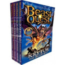 Beast Quest Series 18 Collection 4 Books Set Pack By Adam Blade - books 4 people