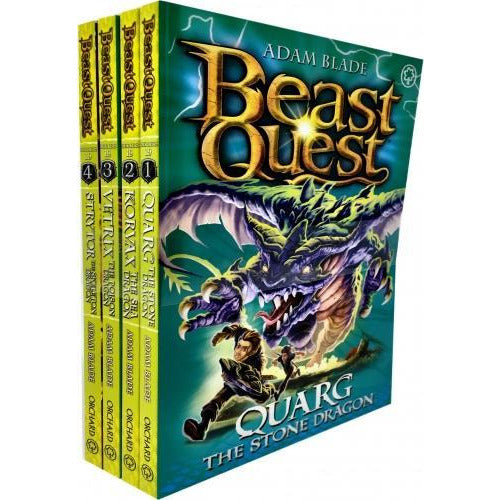 Beast Quest Series 19 Collection 4 Books Set Pack By Adam Blade - books 4 people