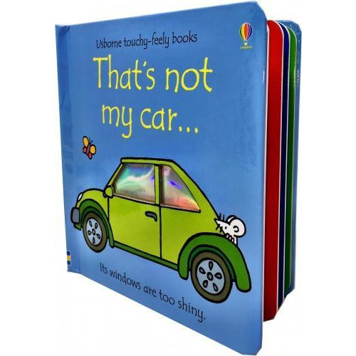 Thats Not My Car Touchy-feely Board Books - books 4 people