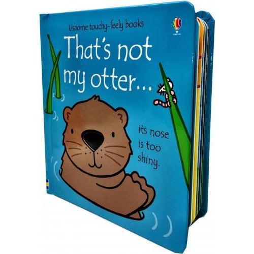 Thats Not My Otter Touchy-feely Board Books - books 4 people