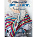 Modern Crocheted Shawls And Wraps - 35 Stylish Ways To Keep Warm From Lacy Shawls To Chunky Throws - books 4 people
