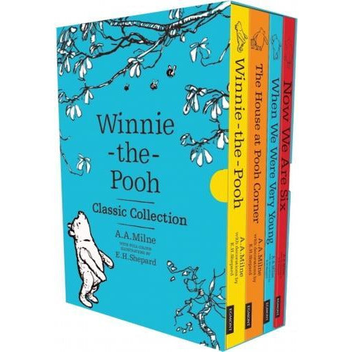 Winnie The Pooh Classic Collection 4 Books Box Set Character Classics - books 4 people