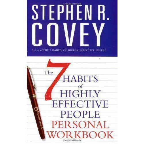 The 7 Habits Of Highly Effective People Personal Workbook - books 4 people