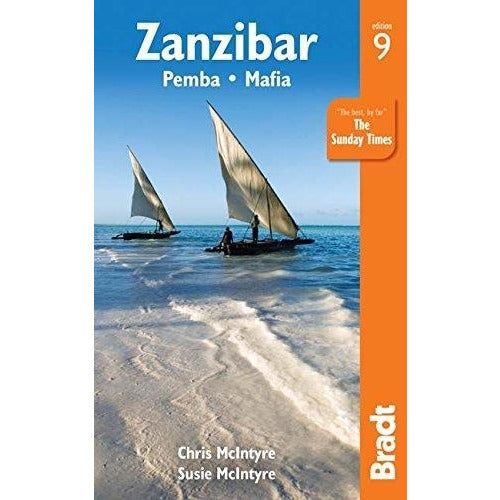 Zanzibar Bradt Travel Guides - books 4 people