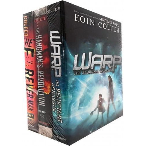 Eoin Colfer Collection 3 Books Set The Reluctant Assassin - Hangmans Revolution - The Forever Man - books 4 people
