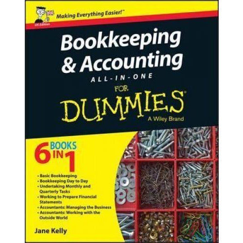 Bookkeeping And Accounting All-in-one For Dummies - Uk - books 4 people