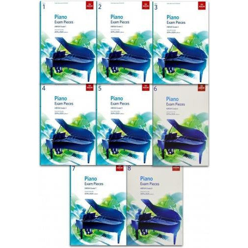 Abrsm Piano Exam Pieces 8 Books Collection Set - Syllabus Grade 1-8 - books 4 people