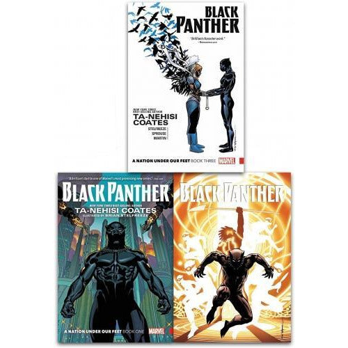 Black Panther A Nation Under Our Feet Collection 3 Books Set - books 4 people
