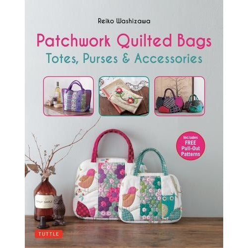 Patchwork Quilted Bags Totes - Purses And Accessories - books 4 people