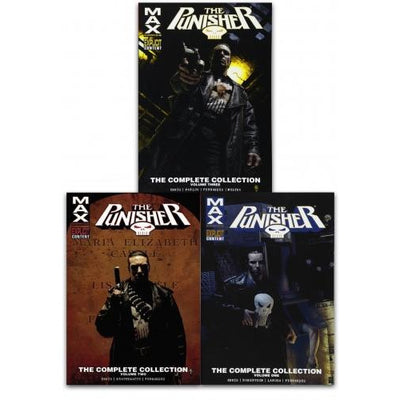 punisher max complete collection vol. 1