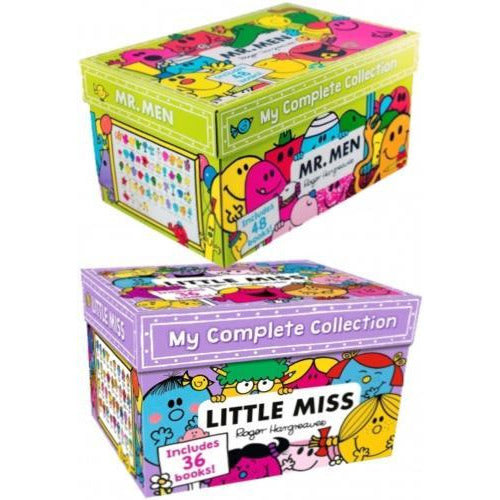 Mr Men And Little Miss The Complete Collection 84 Books Box Set - books 4 people