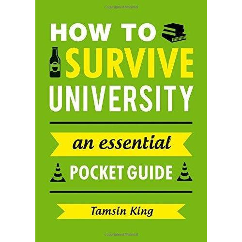 How To Survive University An Essential Pocket Guide Gift Books - books 4 people