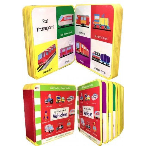 My Little Book Of Vehicles Air Transport Road Transport Rail Transport Water Transport Truck Car A.. - books 4 people