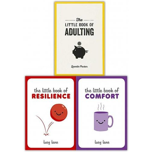 Lucy Lane The Little Book Collection 3 Books Set - Resilience Comfort Adulting - books 4 people