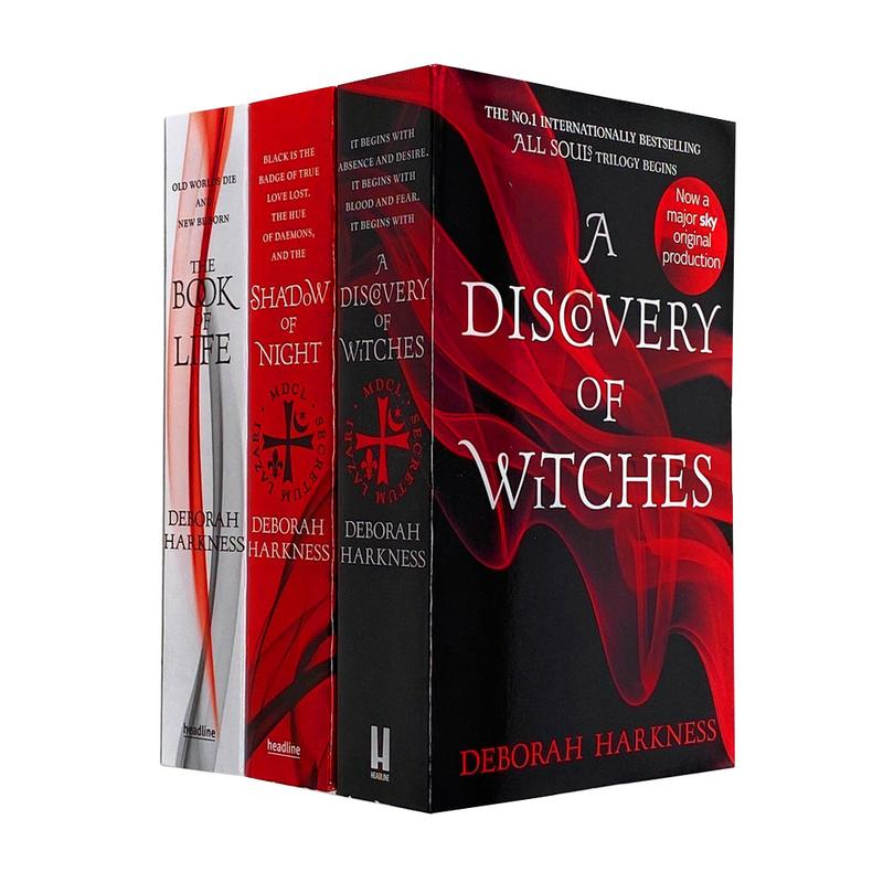 All Souls Trilogy Collection Deborah Harkness 3 Books Set (The Book of Life, Shadow of Night, A discovery of witches)