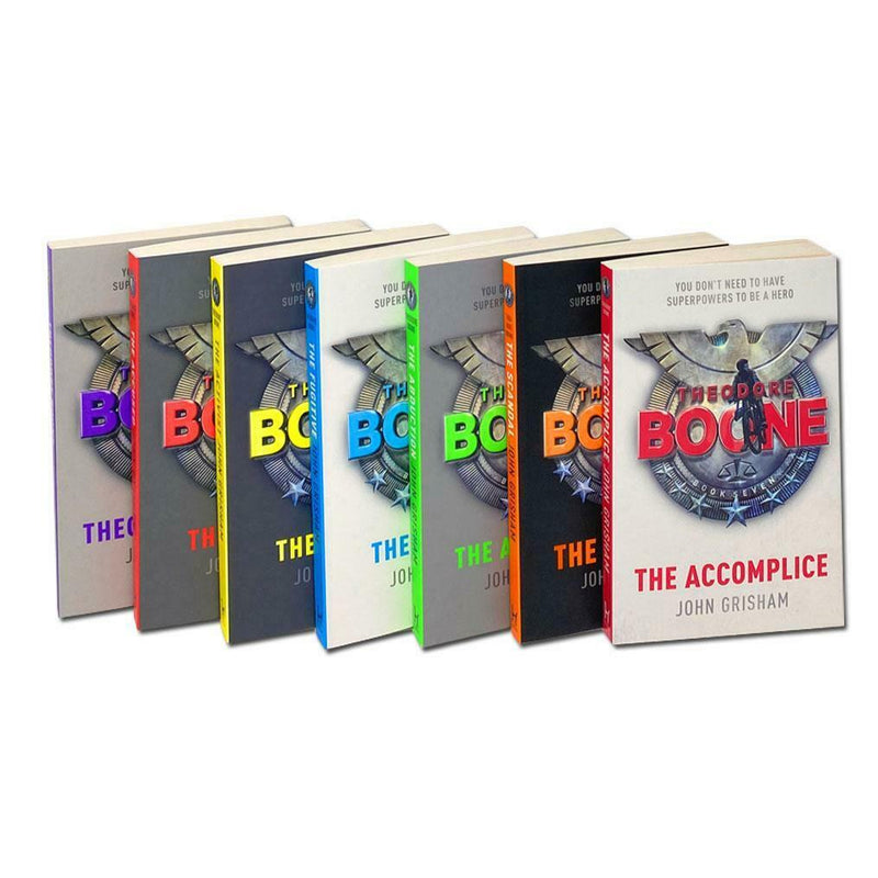 John Grisham Theodore Boone Series Collection 7 Books Box Set