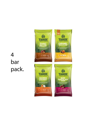 4 Energy Bar Trial Pack (Free with Code 'TahoeSampler')