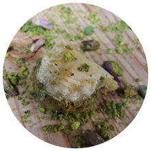 Load image into Gallery viewer, MINI ROSE BAKLAVA (PISTACHIO)