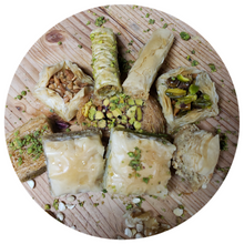 Load image into Gallery viewer, ASSORTED BAKLAVA (Mideast Favorite)