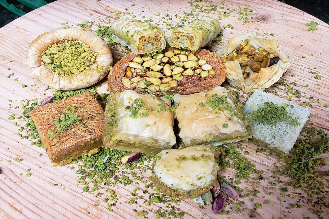 SUGAR FREE ASSORTED BAKLAVA (Palm Sweets Favorite)