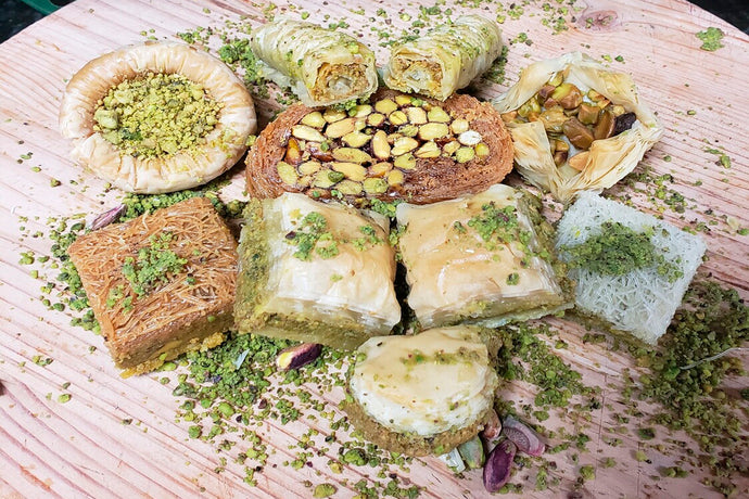 PISTACHIO ASSORTMENT BAKLAVA